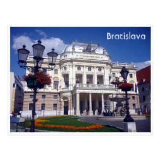 Postal teatro Eslovaquia de Bratislava