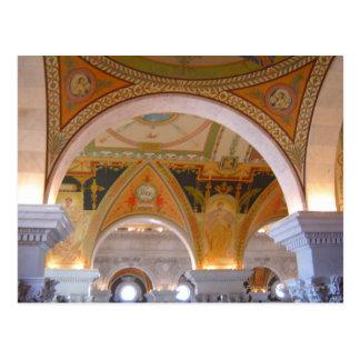 Postal Techo de la Biblioteca del Congreso
