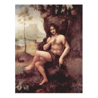 Postal Técnica 1511-1515 de Leonardo da Vinci Bachus Holz