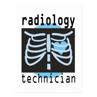 Postal Técnico de la radiología
