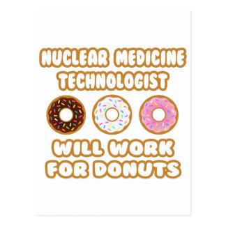 Postal Tecnología nuclear del MED. Trabajará para los