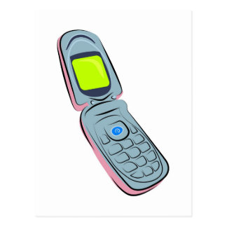 Postal Teléfono móvil