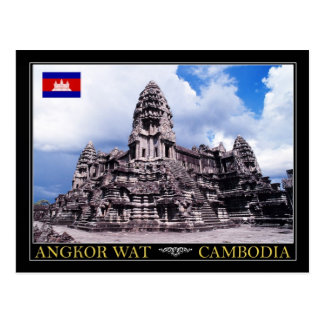 Postal Templo de Angkor Wat, Camboya
