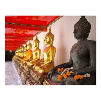Postal templo de Bangkok