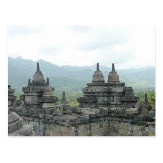 Postal Templo de Borobudur, Yogjakarta