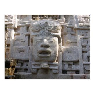 Postal Templo de la máscara