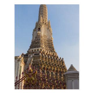 Postal Templo de Wat Arun en Bangkok Tailandia