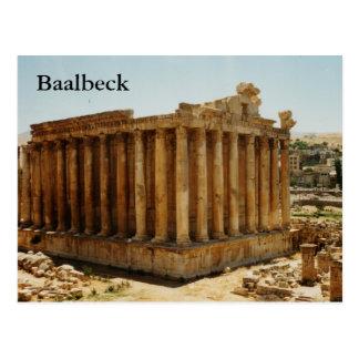 Postal Templo del Bacchus
