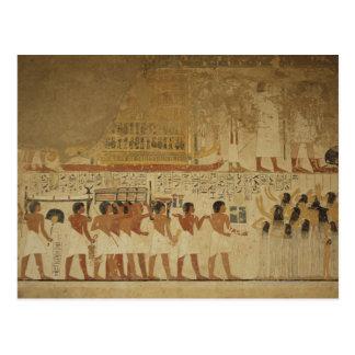 Postal Templo Luxor, Egipto de Karnak