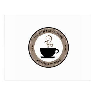 Postal Tendencias del café