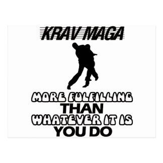 Postal Tender los DISEÑOS de Krav Maga