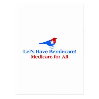 Postal Tengamos Berniecare - Seguro de enfermedad para