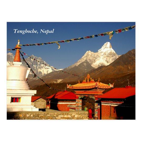 Postal Tengboche Nepal