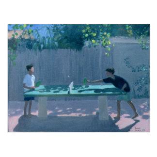 Postal Tenis de mesa Francia 1996