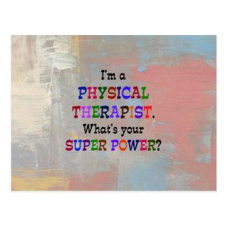 Postal Terapeuta físico