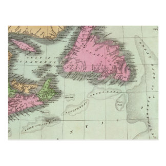 Postal Terranova Nueva Escocia y Nuevo Brunswick