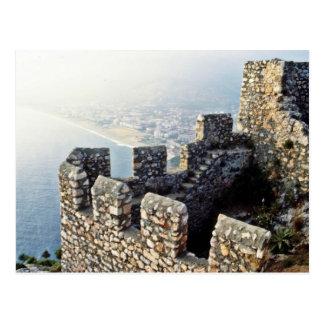 Postal Terraplenes de Seljuk, Alanya - 1221 A.D.