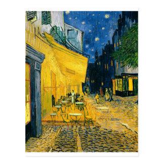 Postal Terraza del café de Vincent van Gogh el |, Place