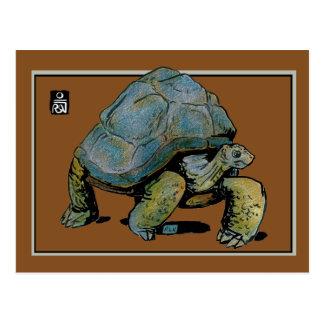 Postal Tess la tortuga gigante