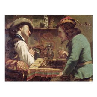 Postal The Game de los proyectos, 1844
