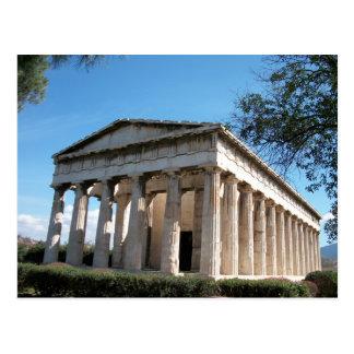 Postal Thission - el templo de Hephaestus
