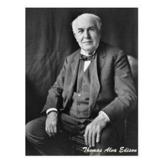 Postal Thomas Alva Edison