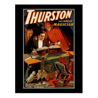 Postal Thurston el gran mago