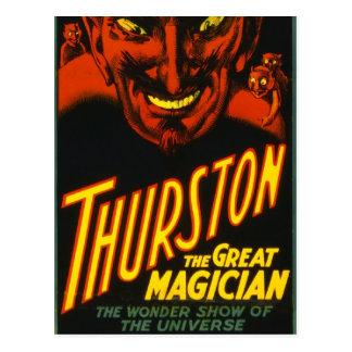 Postal ¡Thurston el grande!