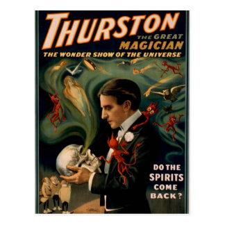 """Postal Thurston, """"hace las bebidas espirituosas se"""