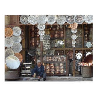 Postal Tienda tradicional en Isfahán