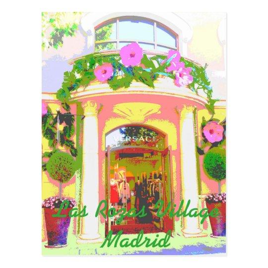 Postal Tienda Versace en las Rozas Village de Madrid