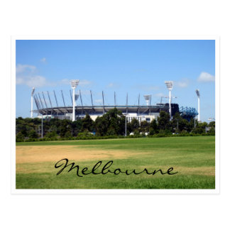 Postal tierra del grillo de Melbourne