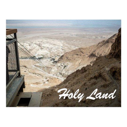 Postal Tierra-Israel santo