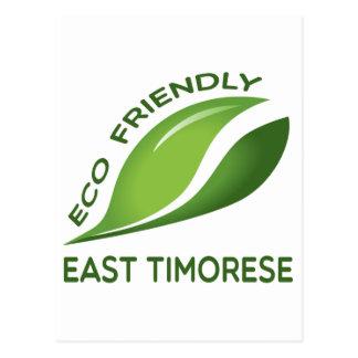 Postal Timorense del Este amistoso de Eco.