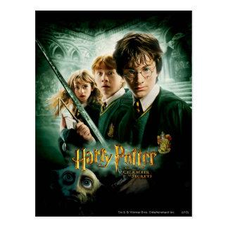 Postal Tiro del grupo del Dobby de Harry Potter Ron
