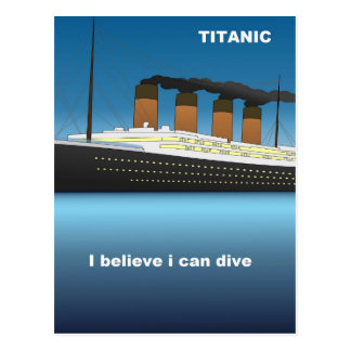 Postal titanic dive