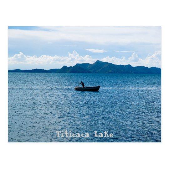 Postal Titicaca Lake