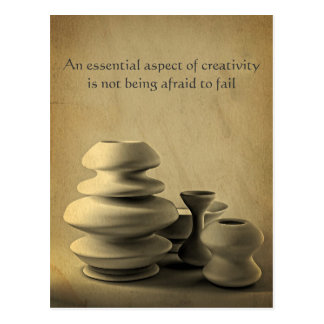 Postal Todavía de la cerámica bosquejo de cerámica del