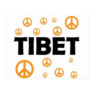 Postal Todos ama Tíbet