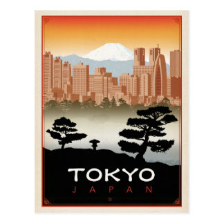 Postal Tokio, Japón