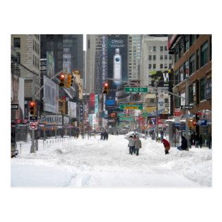 Postal Tormenta New York City 12/26/10 de la nieve del