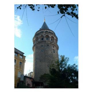 Postal Torre de Galata