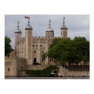 Postal Torre de Londres Inglaterra vista de enfrente del