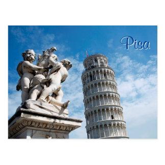 Postal Torre de Pisa