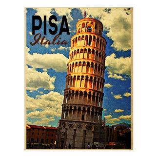 Postal Torre de Pisa ltaly