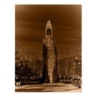 Postal Torre de reloj Corning ny