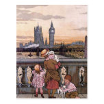 """Postal """"Torre de reloj de Big Ben, Londres """""""