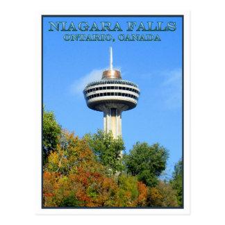 Postal Torre de Skylon, Niagara Falls, Ontario