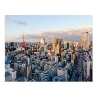 Postal Torre de Tokio