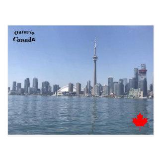 Postal Torre del NC, Ontario, Canadá
